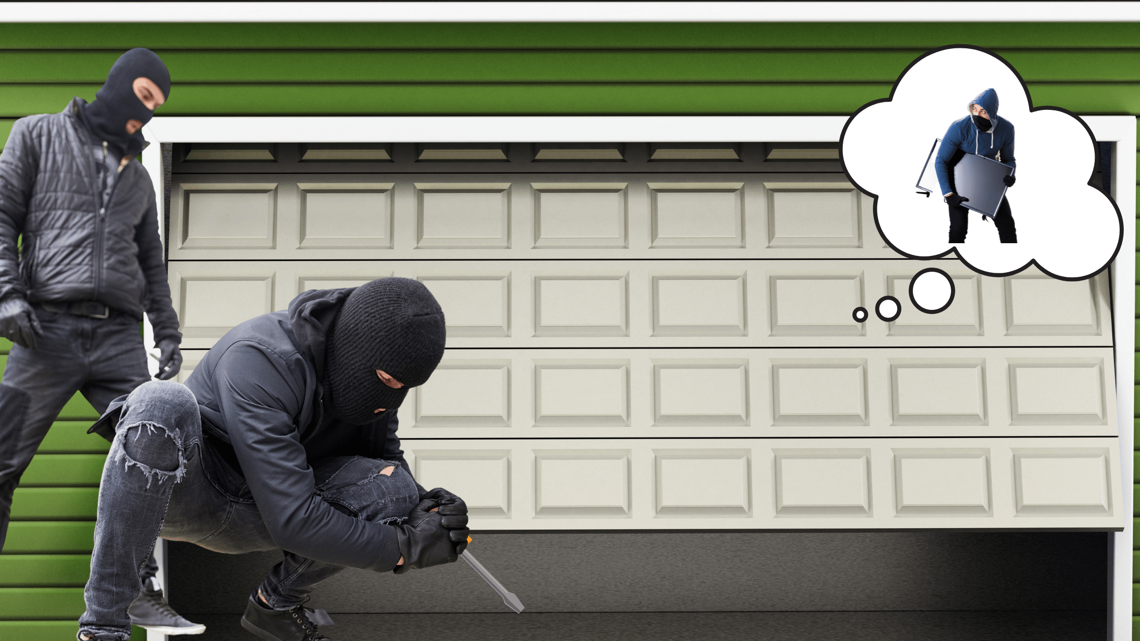 Here are the major reasons why any thieves can easily break into your garage door and how using simple DIY Tips you can protect garage doors from burglars.